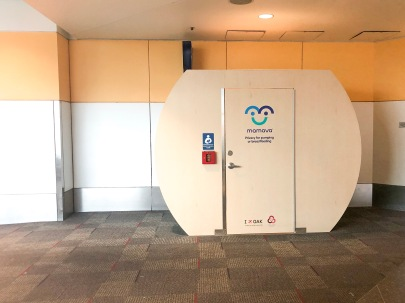 Mamava Pad in Oakland Airport